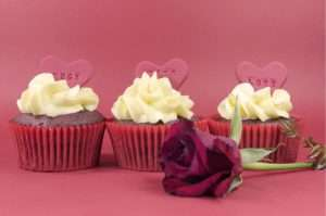 muffin alla rosa