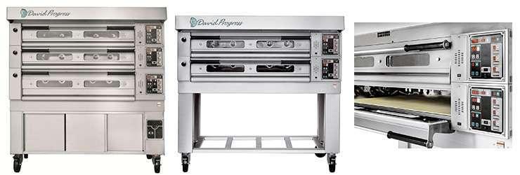 forni elettrici modulari per pizzerie