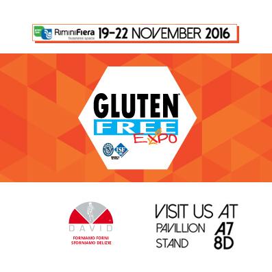 Forni David torna al Gluten Free Expo
