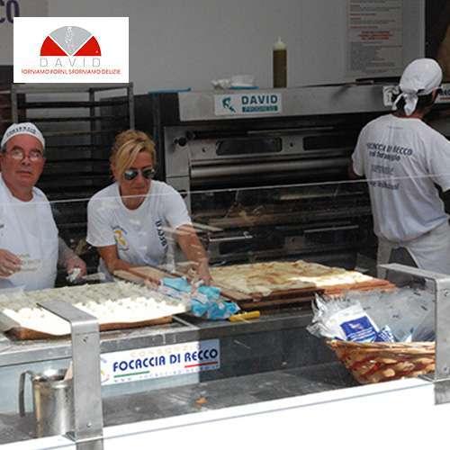 Il Consorzio della Focaccia di Recco col formaggio sceglie e utilizza Forni David.