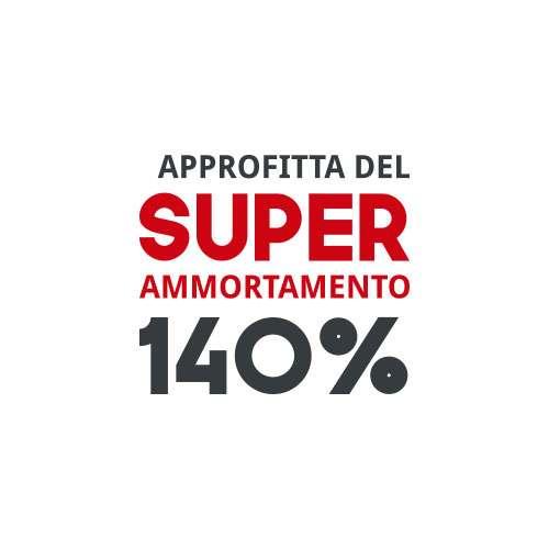 Con Forni David hai l'opportunità di usufruire del Super Ammortamento 140% per le imprese. Scopri come ottenerlo.