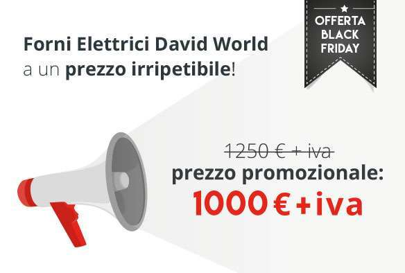Offerta Black Friday: David World Scontati Fino a Lunedì 27/11 ...