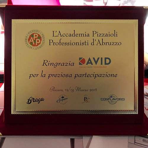I Forni David Progress Vincenti In Qualità e Performance al Campionato Nazionale della Pizza di Saral Food.